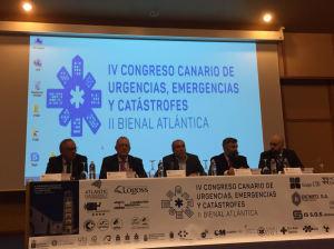 IV Congreso Canario de Urgencias, Emergencias y Catástrofes. II Bienal Atlántica