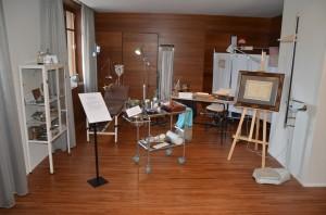 Imagen de la exposición del Centenario del Colegio de Enfermería