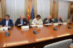 """Firma del acuerdo sobre el """"Decreto de Prescripción"""""""