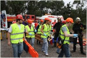 Foto Simulacro del Experto de Urgencias y Emergencias 2011